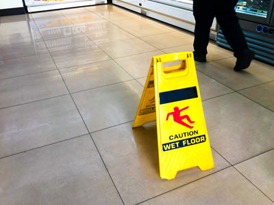 Slip and Fall Supermarket - Grocery Store