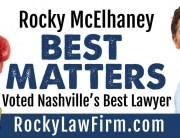 """When you need a lawyer...""""Best Matters."""""""