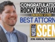 Rocky McElhaney Best Attorney Nashville