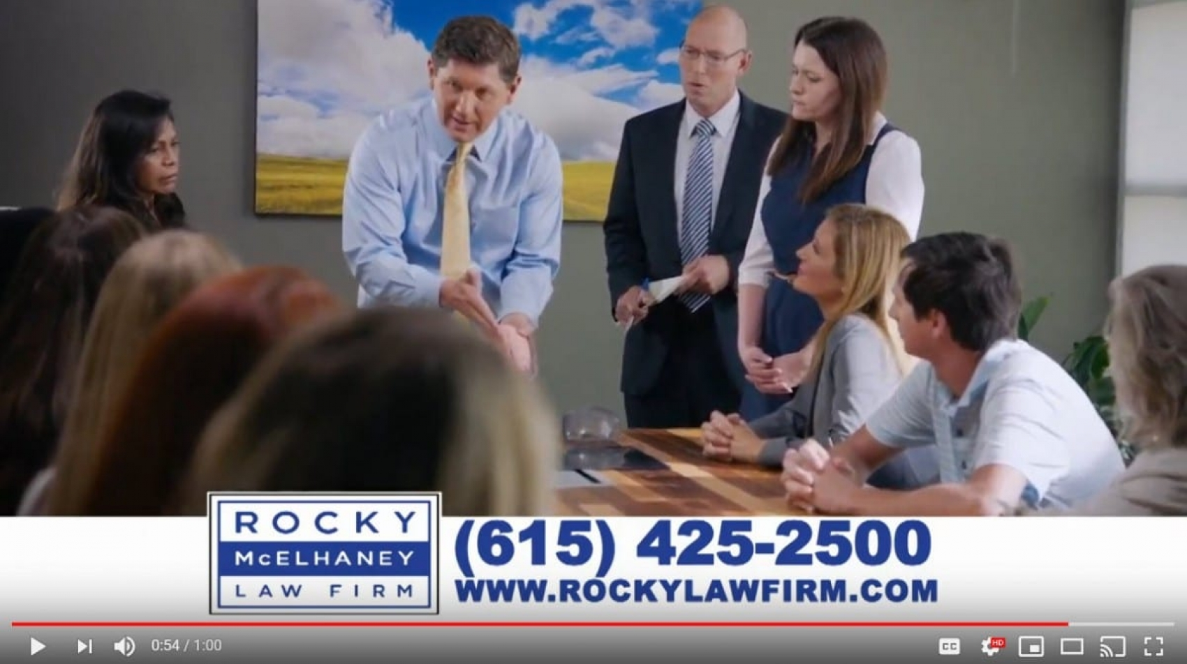Truck Testimonial - Rocky McElhaney Law Firm Commercial