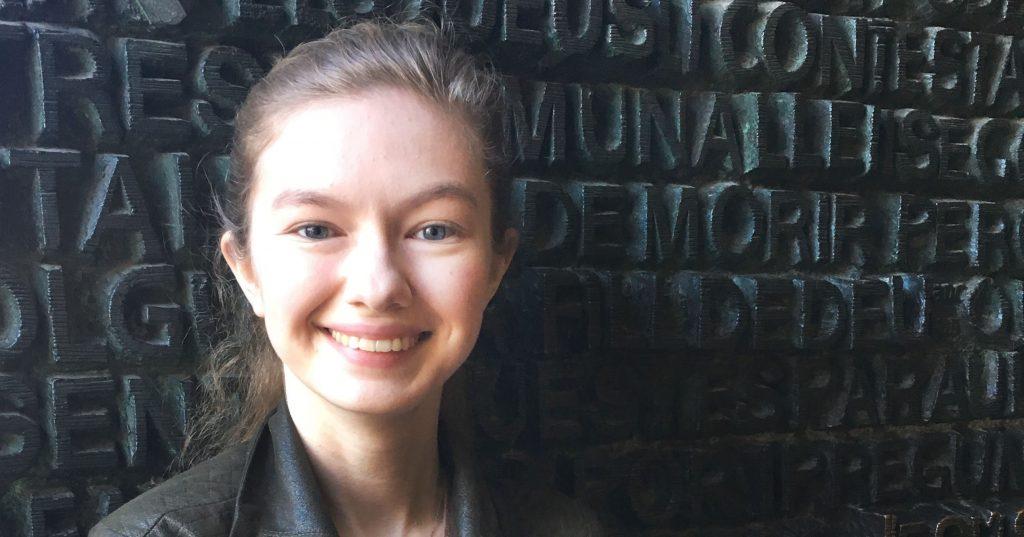 Rocky McElhaney Law Firm awards Savannah Eller with annual scholarship
