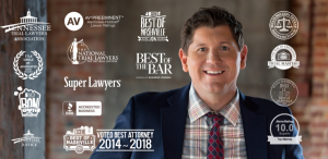 Rocky McElhaney Law Firm Made the Three Best Rated® List for 2018!