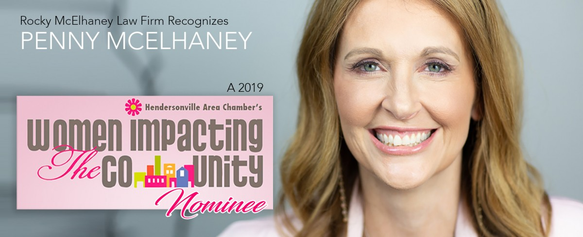 Penny McElhaney Receives 2019 Women Impacting the Community