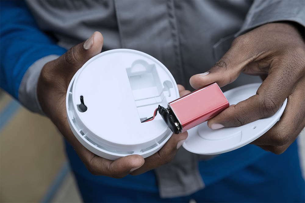 Faulty Carbon Monoxide Detector Installation