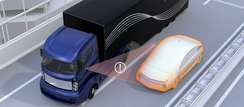 Truck Accident Blind Spots Tennessee