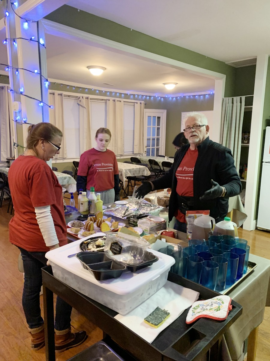 Jesus Provision Ministries, Feeding the Homeless of Wilson County