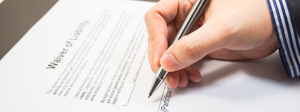 When I Sign a Waiver, Does It Mean I Can't Sue