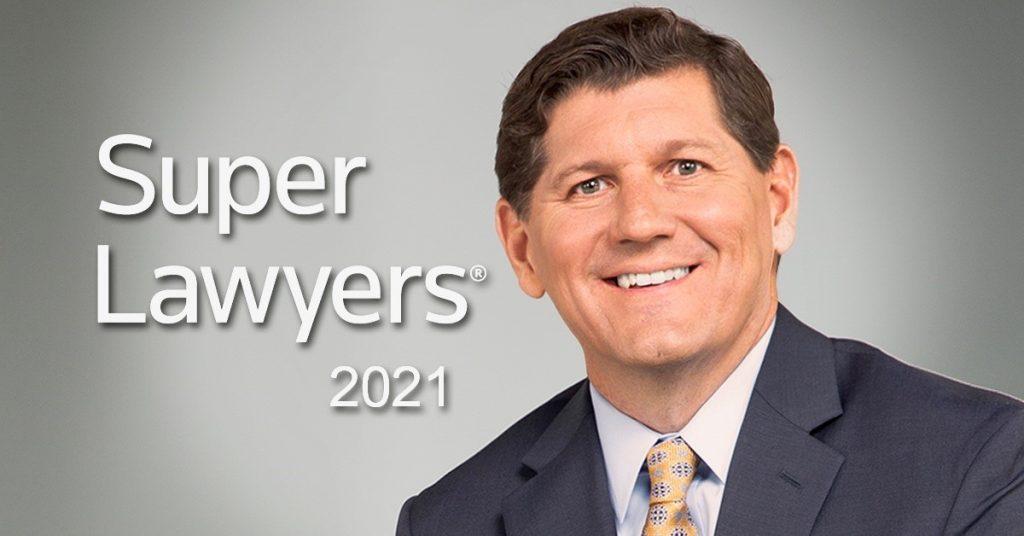 Super Lawyers Rocky McElhaney